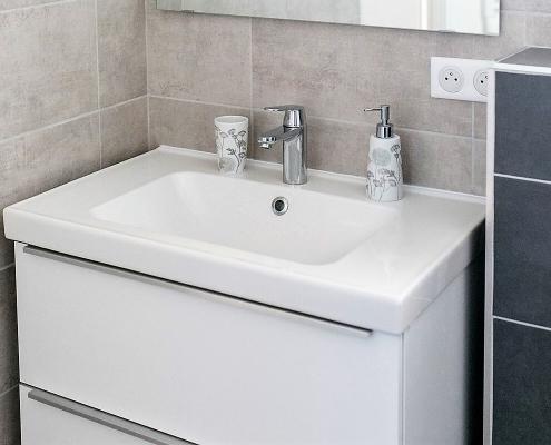 Villa Marie Badezimmer 1 Waschtisch